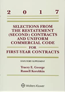 Contracts texts restatement 2d contracts ucc article 2 the cisg selections from the restatement second and uniform commercial code for first year contracts fandeluxe Image collections