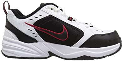 Amazon.com | Nike Mens Air Monarch IV Cross Trainer White/Black 15.0 Regular US | Fashion Sneakers