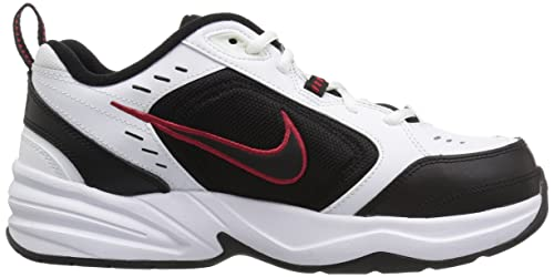 Amazon.com | Nike Mens Air Monarch IV Cross Trainer White/Black 15.0 Regular US | Fashion Sneakers
