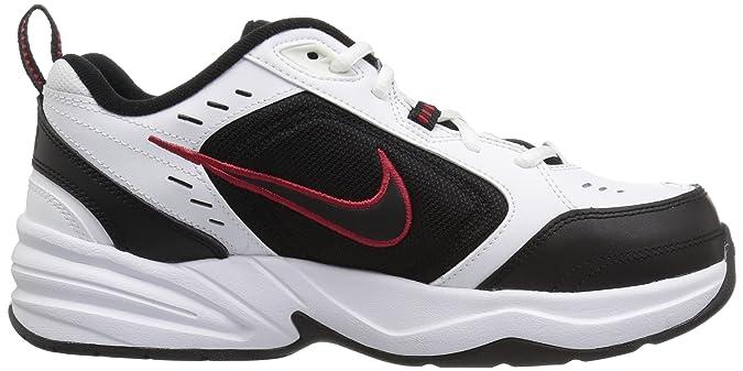 Amazon.com | NIKE Mens Air Monarch IV (4E) Athletic Shoe, white/black, 6.5 4E US | Running