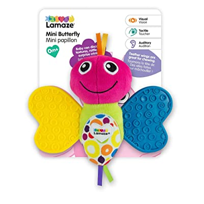 LAMAZE Butterfly, Baby teether : Baby