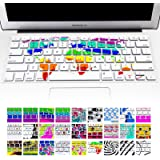 "Allytech(TM) Keyboard Cover Silicone Skin for MacBook Pro 13"" 15"" 17"" (with or w/out Retina Display) iMac and MacBook Air 13"" (World Map)"
