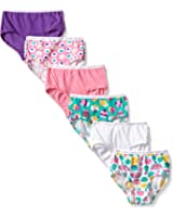 Fruit of the Loom Little Girls' Wardrobe Brief (Pack of Six)
