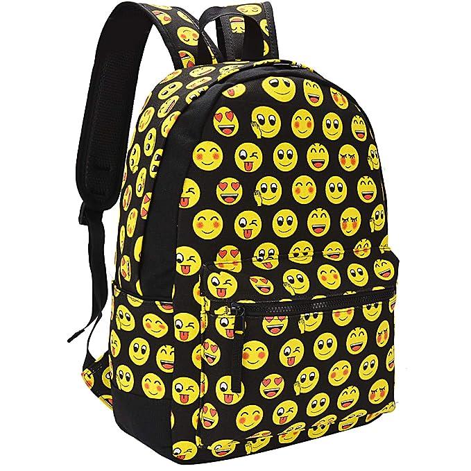 Amazon.com: Emoji Backpack, COOFIT Kids Backpack