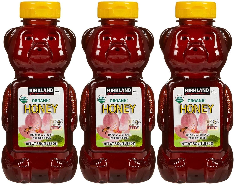 Kirkland Organic Honey Bears-24 oz, 3 ct