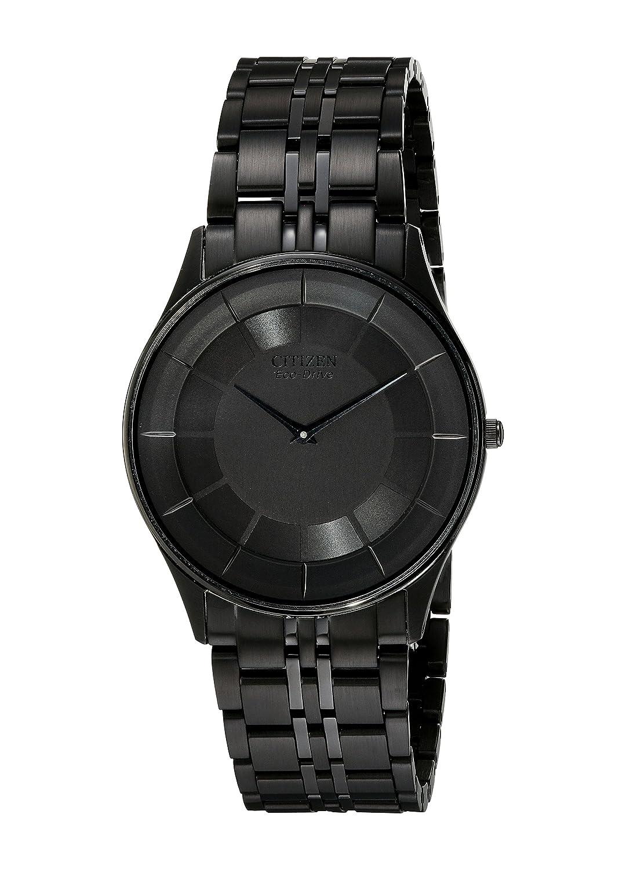 a96a3a55346 Amazon.com  Citizen Men s AR3015-53E Eco-Drive Stiletto Black Dress Watch   Citizen  Watches
