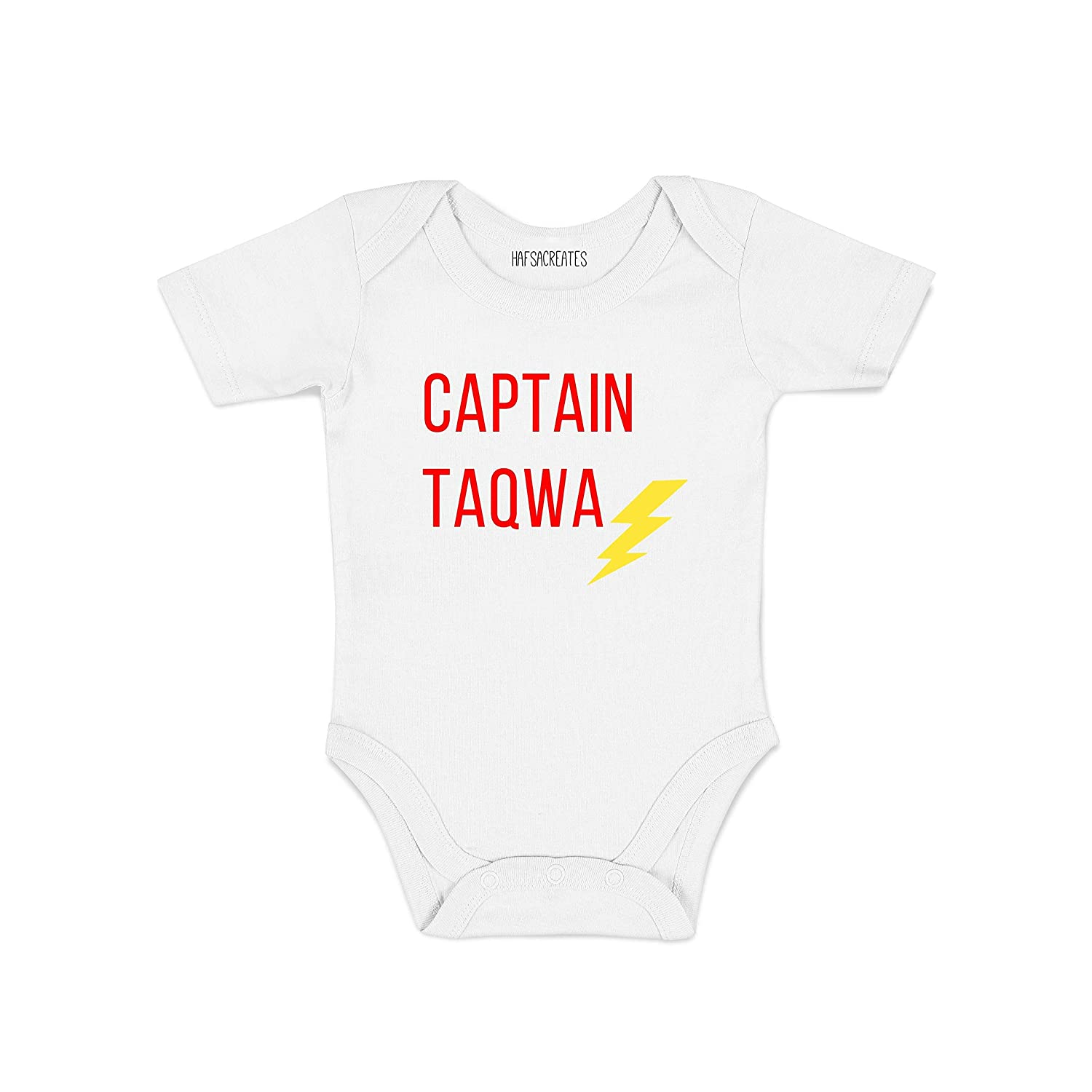 Amazon com captain taqwa bodysuit baby boy white newborn photography props onesies baby boy handmade