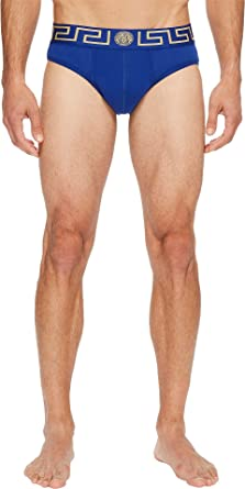 b4f1d8577f0 Amazon.com  Versace Men s Iconic Low Rise Brief  Clothing