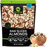 Natural Sliced Almonds - Raw, Superior to Organic (16oz - 1 LB) Packed Fresh in Resealable Bag - Nut Trail Mix Snack - Health