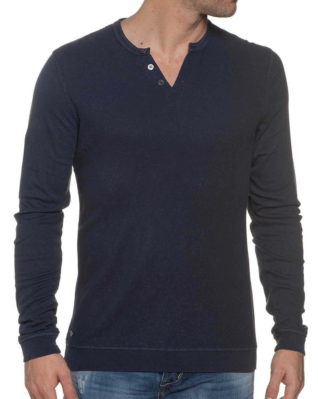 Deeluxe 74 - Blue Sweater With Elbow Vintage
