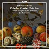 Kuhnau : Sept sonates pour clavecin. Katzschke.