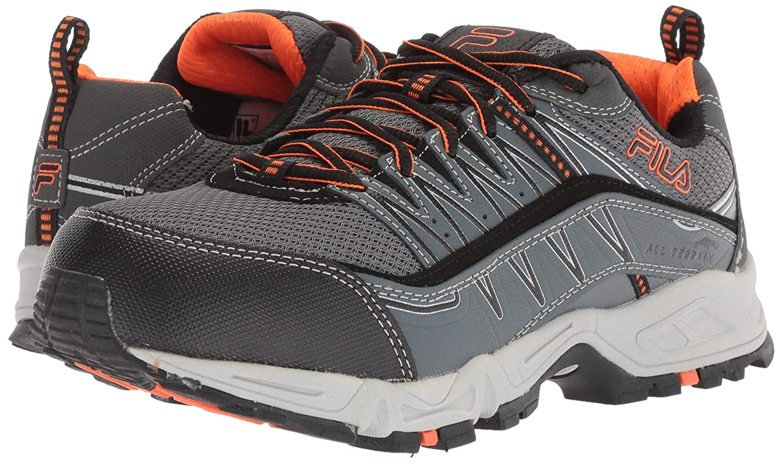 c8c873bc5f Fila Men's Memory At Peake Composite Toe Work Shoe