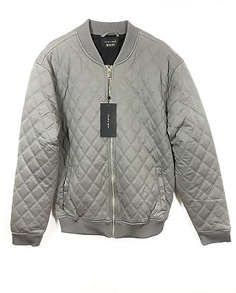 Zara - Chaqueta - para hombre gris gris X-Large: Amazon.es: Ropa y ...