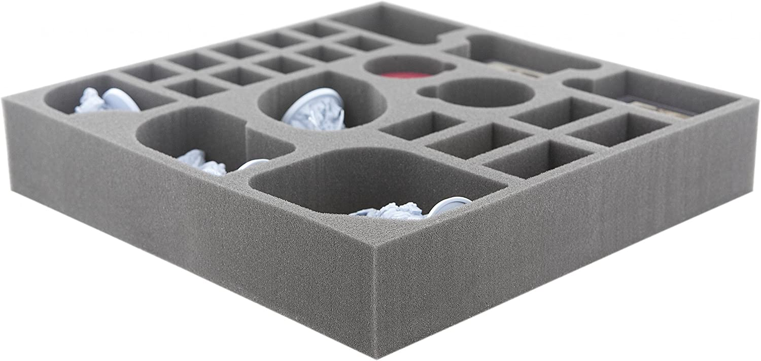 Gods and Mystics Feldherr AG040BR04 40 mm Foam Tray for Blood Rage expansions 5th Player