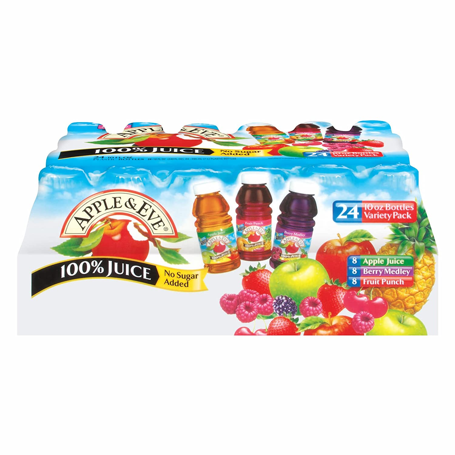 Apple & Eve 100% Fruit Juice Variety Pack, 24 pk./10 oz.