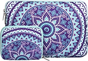 MOSISO Laptop Sleeve Compatible with 13-13.3 inch MacBook Pro, MacBook Air, Notebook Computer, Carrying Bag Cover with Small Case Mandala MO-MDL003