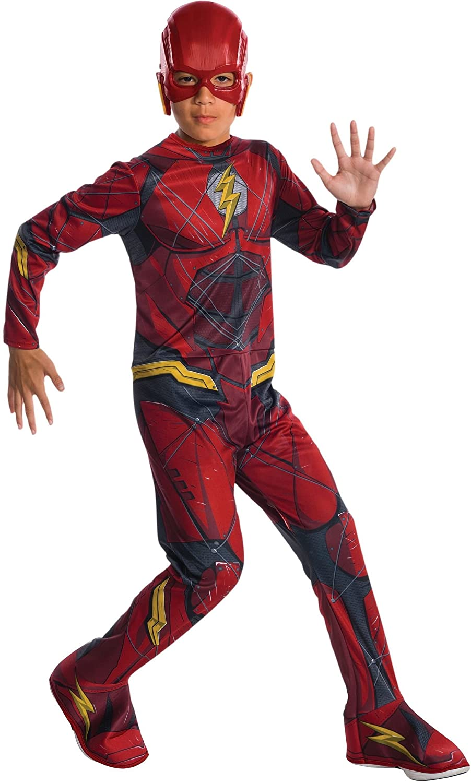 Rubies Costume Boys Justice League The Flash Costume, Medium, Multicolor