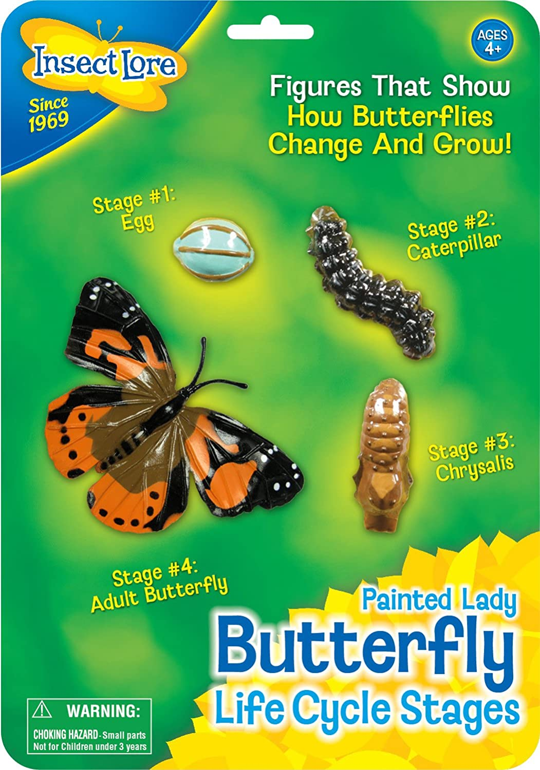 life cycle stages butterfly amazon co uk toys u0026 games