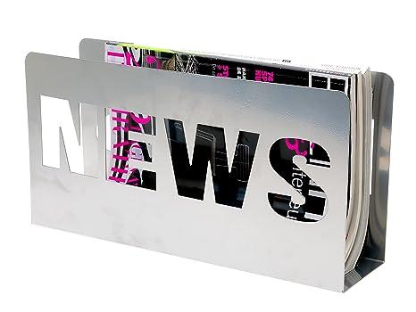 Tp pt pt0024si portariviste news argento: box32 design: amazon.it