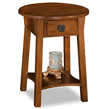 Leick Anyplace Side End Table, Russet