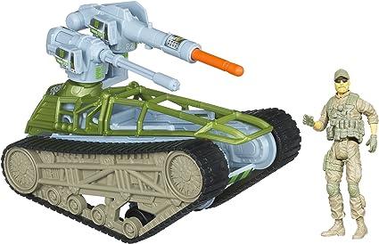 GI Joe Retaliation Tread Ripper Tank Vehicle with Missile Launching Cannon