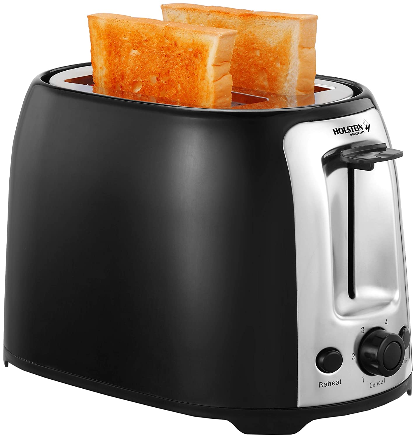 Holstein Housewares HH-09175001B 2-Slice Toaster with 7 Browning Levels, Black 819pSQO0cdL