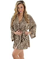 Animal Print Robe Wrap Leopard Print Sleepwear Great Gift Idea
