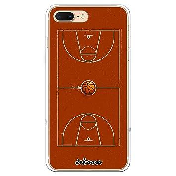 dakanna Funda iPhone 7 Plus - 8 Plus | Campo y balón de Baloncesto ...