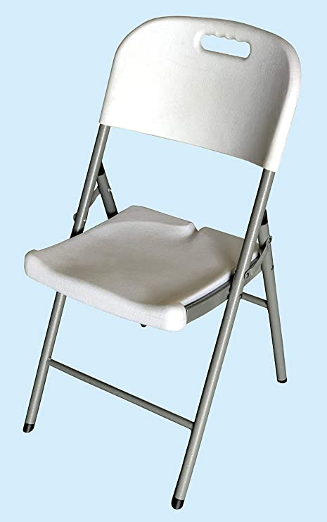 Homelux 710092 Silla Plegable Resina, 46.5 x 45 x 85.5 cm ...