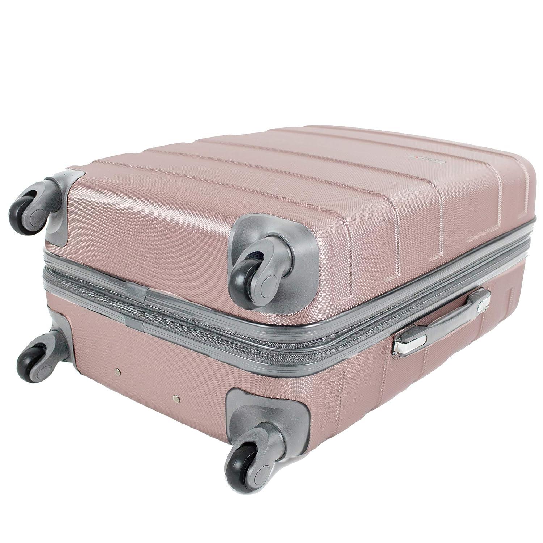 d45baf5dd AMKA Verano Hardside 3-Piece Expandable Spinner Upright Luggage Set  86996-3E-BLK Luggage Parent Code ...