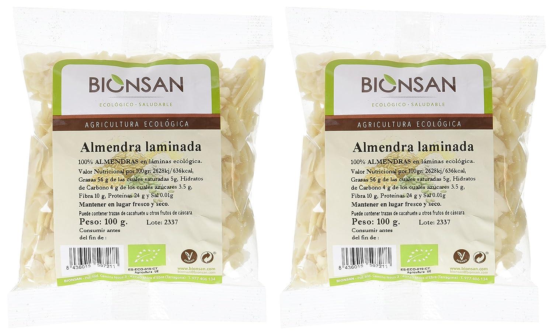 Bionsan Almendra Laminada - 2 Paquetes de 100 gr - Total: 200 gr: Amazon.es: Alimentación y bebidas