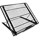 Mlife Large Size Light Pad Stand - Adjustable Light Box Laptop Stand, 9 Angles Non-Skidding Metal Holder for A3 B4 A4…
