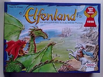 Amigo Spiele 8300 Elfenland - Juego de Mesa para niños [Importado ...