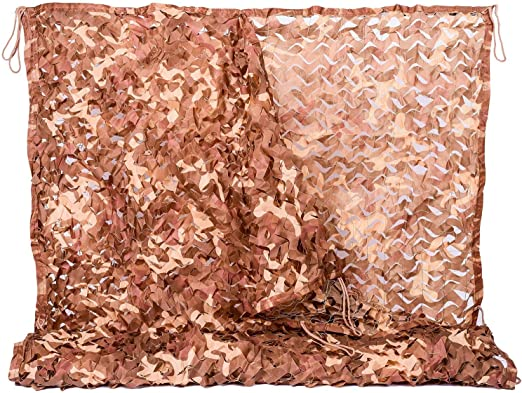 Details about  /Camo Netting Camouflage Net Blinds Great for Sunshade Camping Shooting Hunting