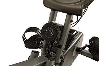 Exerpeutic semi-recumbent exercise bike