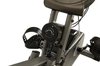 Exerpeutic semi-recumbent exercise bike