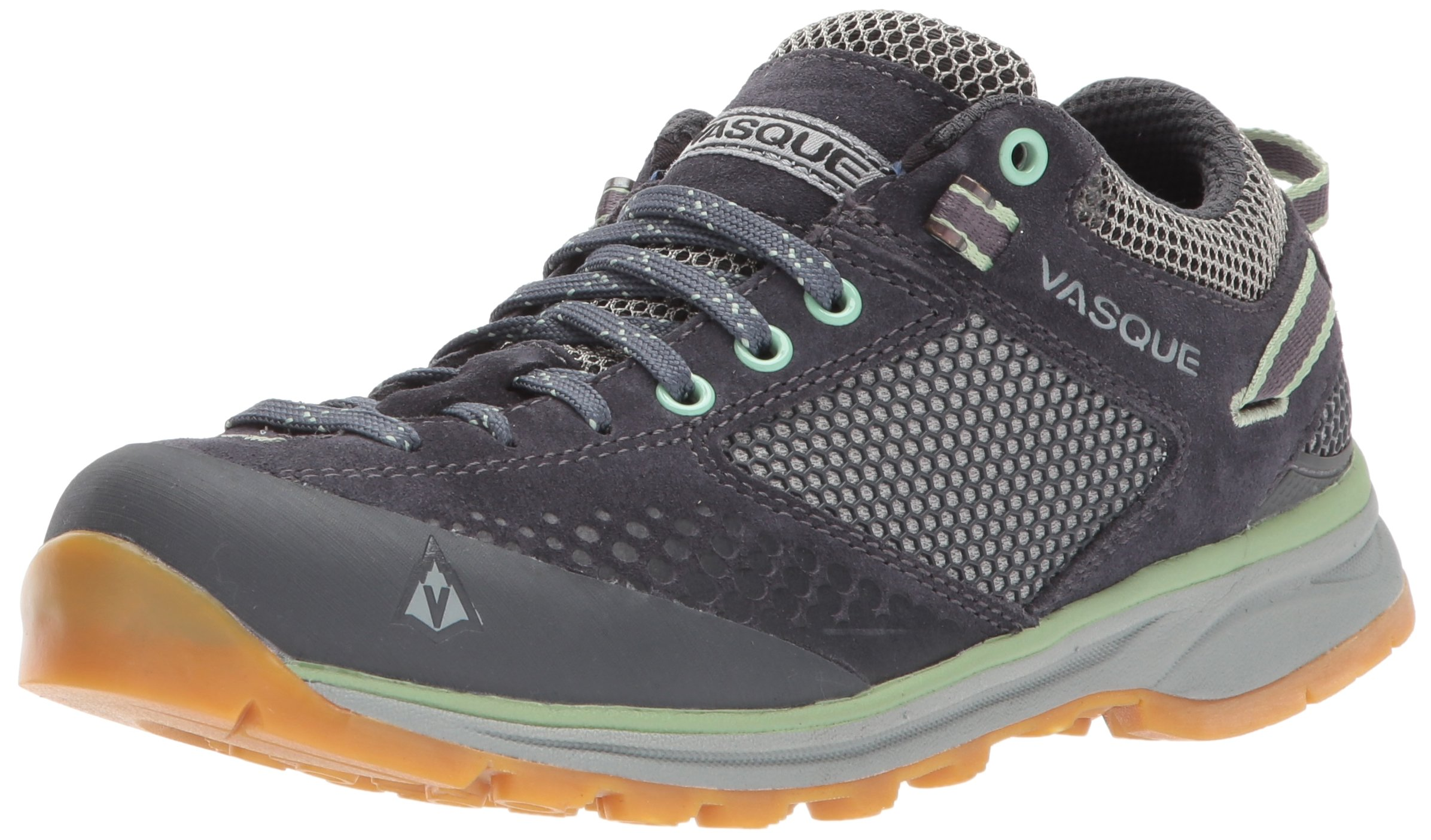 Vasque Women's Grand Traverse Backpacking Boot, Ebony/Basil, 9 M US by Vasque
