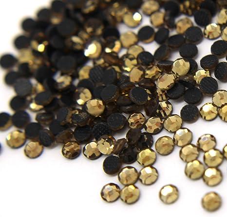 10 Gross Hot Fix Iron On Rhinestone Jewel *FREE SHIP* SS20 5mm-Wholesale 1440