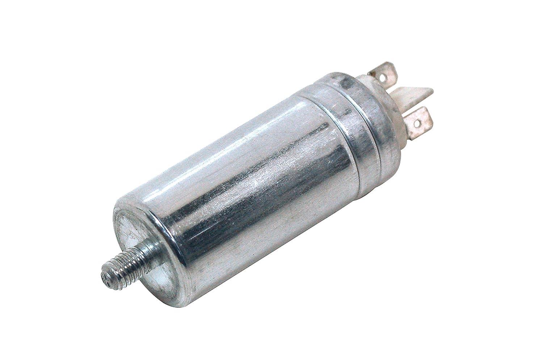 Creda Hotpoint Indesit White Westinghouse Tumble Dryer Capacitor 9uf Ducati. Genuine part number C00279463