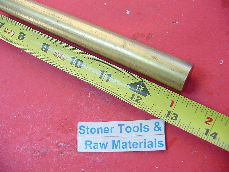 "3/4"" C360 BRASS ROUND ROD 13"" long Solid .750"" Diameter New Lathe Bar Stock H02 819pgdWjezL"