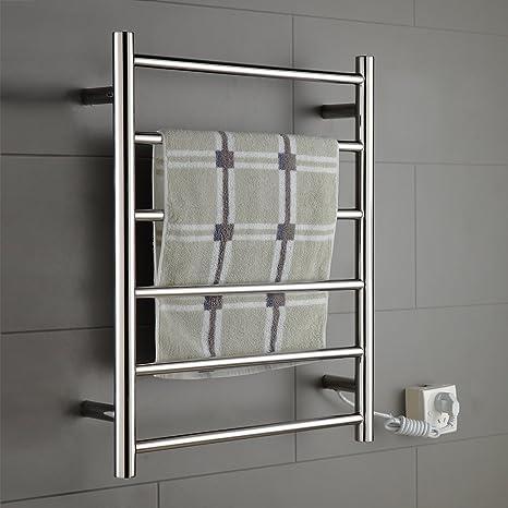 Amazon.com: Onda calentador calentador de toallas acero ...