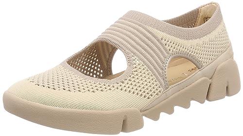 Clarks Un Adorn Lo, Zapatos de Cordones Derby para Mujer, Negro (Black Combi), 37.5 EU