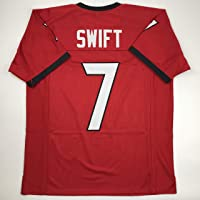 $49 » Unsigned D'Andre Swift Georgia Red Custom Stitched College Football Jersey Size Men's XL New No Brands/Logos