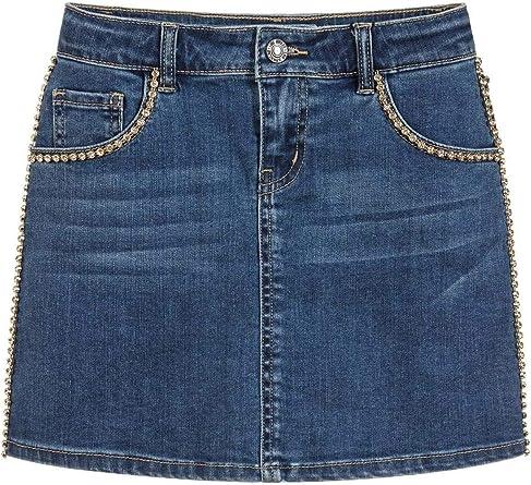 Guess - Falda Vaquera para niña Jeans 10 años: Amazon.es: Ropa y ...