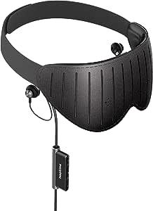 Naptime - Máscara de ojos portátil para dormir más rápido y mejor y despertar nuevo, con aplicación iOS/Android.