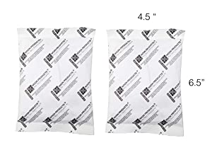 Gun Safe Silica 200 Gram (2 Pack) Silica Gel Desiccant, Military Grade Dehumidifier, Perfect for Gun Storage, Document Sages, Tools, Outdoor Gear Storage, Food Storage and More.