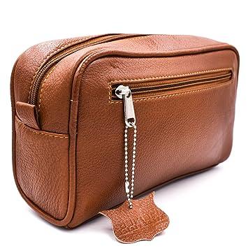 d4362715aca3 Amazon.com  Parker Safety Razor s Handmade Saddle Leather Travel ...