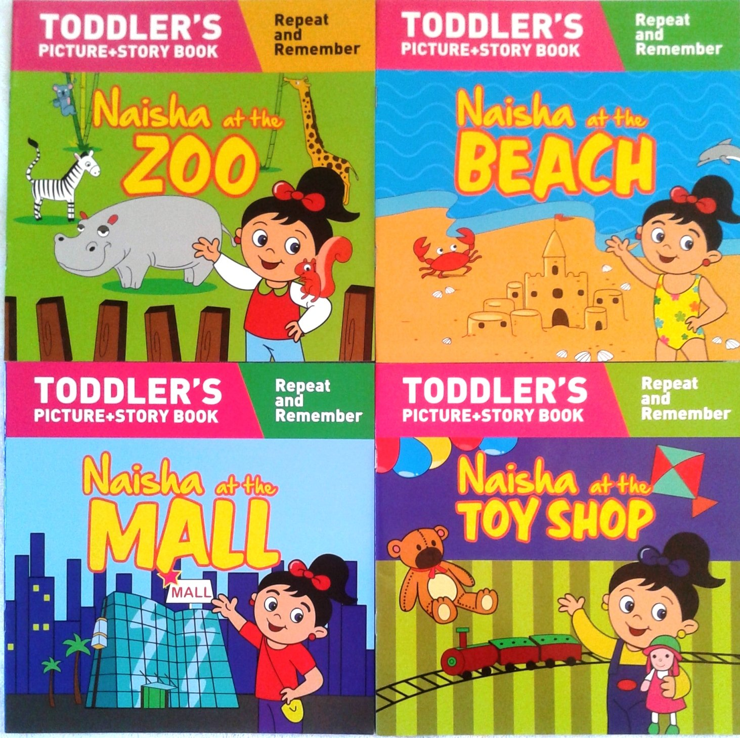 buy naisha series set 1 set of 4 books toddler s picture story