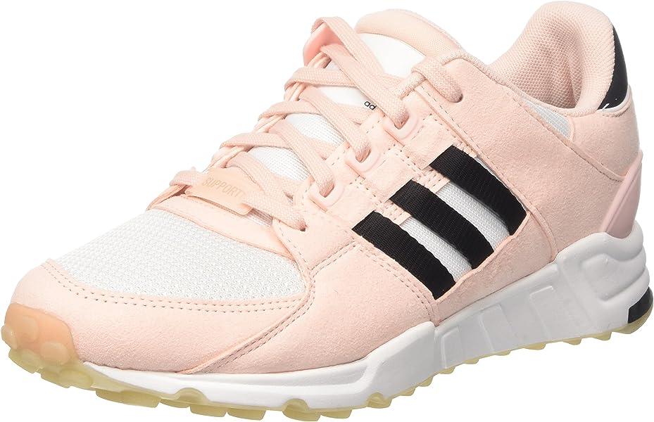 size 40 158e4 b9394 adidas EQT Support Rf W Womens Trainers Pink Black - 7 UK