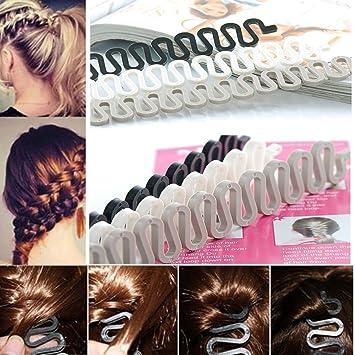 3 PCS Hair Accessories Fashion Hair Styling Women Clip Stick Bun Maker Braid Too